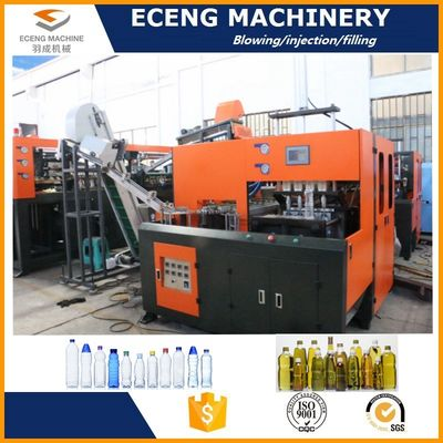 China Energy Saving Semi Auto Blowing Machine With Cold Air Circulating System supplier