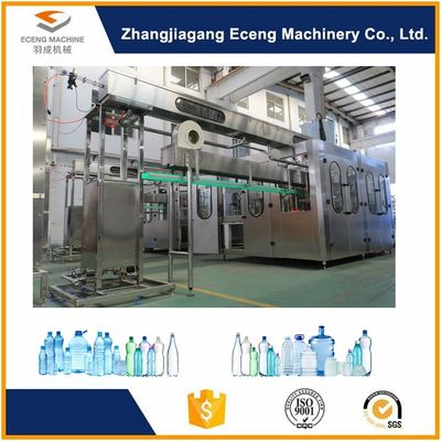 China Silver 3 In 1 Filling Machine With High Pressure Pneumatic Action System supplier