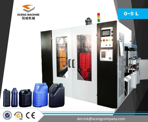 China 5 L PLC Control Extrusion Molding Machine With Automatic Temperature Control supplier