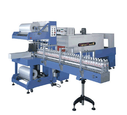 China High Speed Shaped Bottle Packing Machine With Big Wind - Volume Cooling System supplier