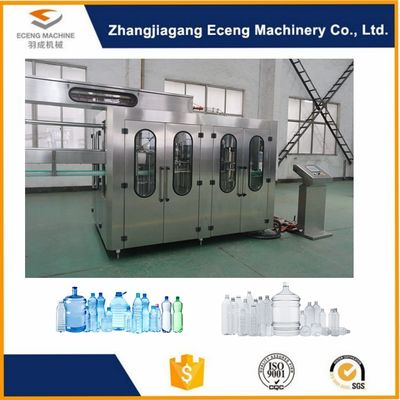 China PLC Programmable Control 3 In 1 Filling Machine Plant Line For Ediable Oil Bottle supplier