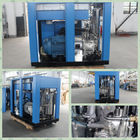 Blue Air Compressor Machine , Environmental Protection 2 Stage Air Compressor