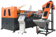 China Fully Automatic Pet Stretch Blow Molding Machine For Popular , 50kw Power company