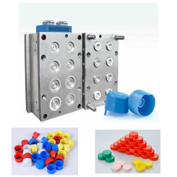 Mineral Water Bottle Cap Mould Injection Moulding For Plastic PET Bottle