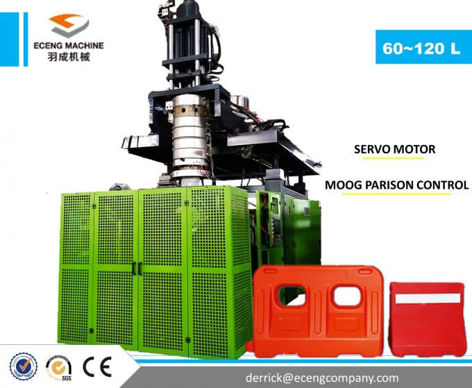 3 Ton 500BPH Plastic Jerry Can Making Machine With Hydraulic Pressure System