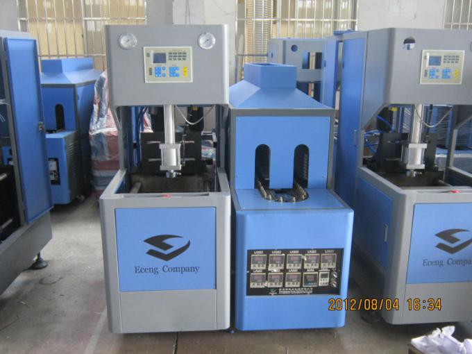 1800 Pcs / H Semi Automatic Blow Moulding Machine For 5 L Edible Oil Bottles