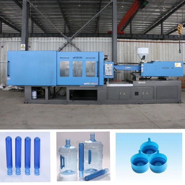 24 Cavity Bottle Blow Moulding Machine With Centralized Lubrication System