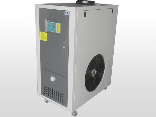 High Pressure Industrial Air Cooled Chiller With PLC Microcomputer Control