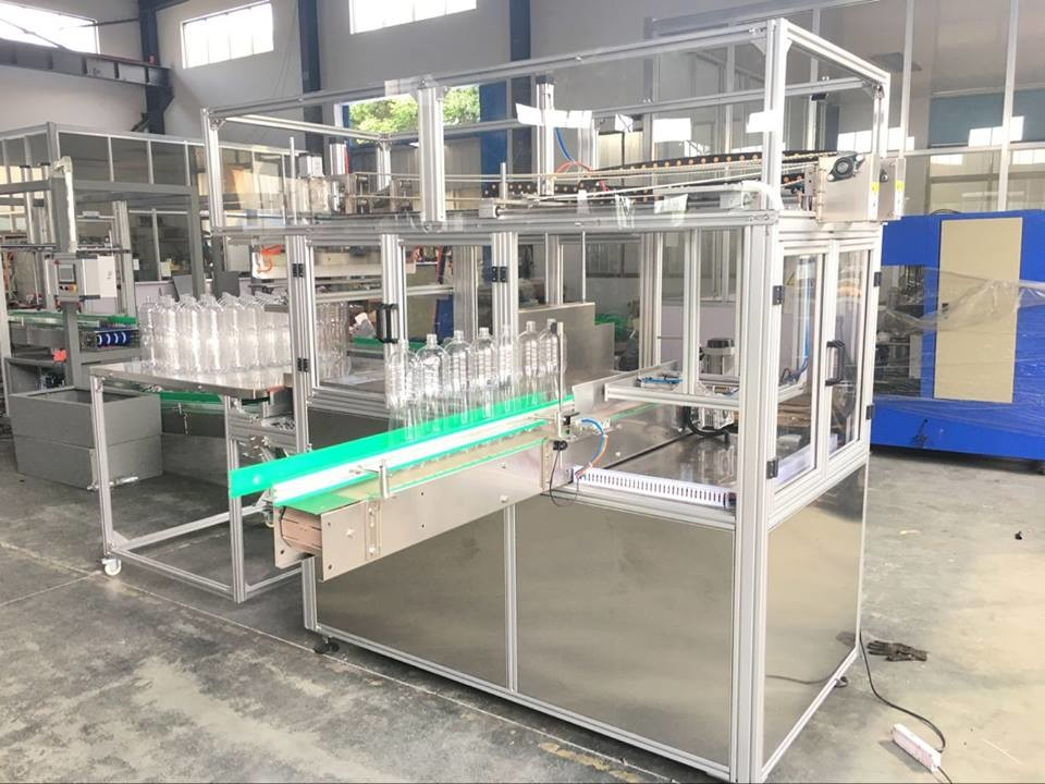 Automatic Shrink Sleeve Labeling Machine , Bottle Plastic Bag Packing Machine