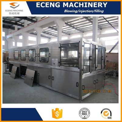 China 5.6KW 3 Gallon Fully Automatic Bottle Filling Machines With Three Filling Heads factory