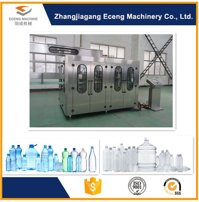 China 330 - 2250ML Soft Drink Filling Machine , 2.2kw Mineral Water Filling Machine factory