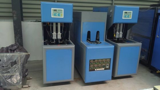 China Pneumatic System Semi Auto Blowing Machine With Infrared Lamps Preform Heater factory
