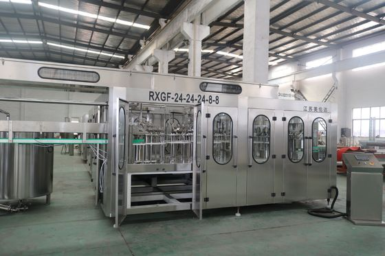 China Alcohol / Whiskey Liquid Filling Machine , Carbonated Beverage Filling Machine factory