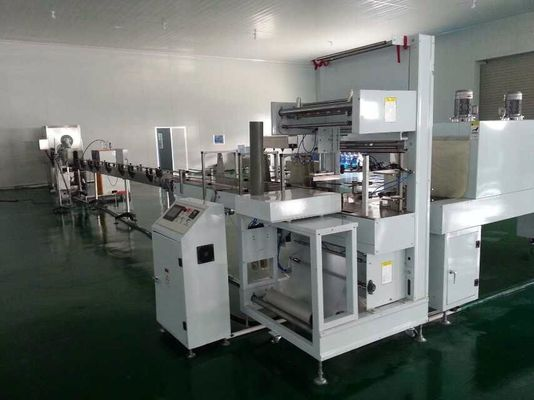 China Heat Tunnel Plastic Bottle Packing Machine With Trouble Alarm Function distributor